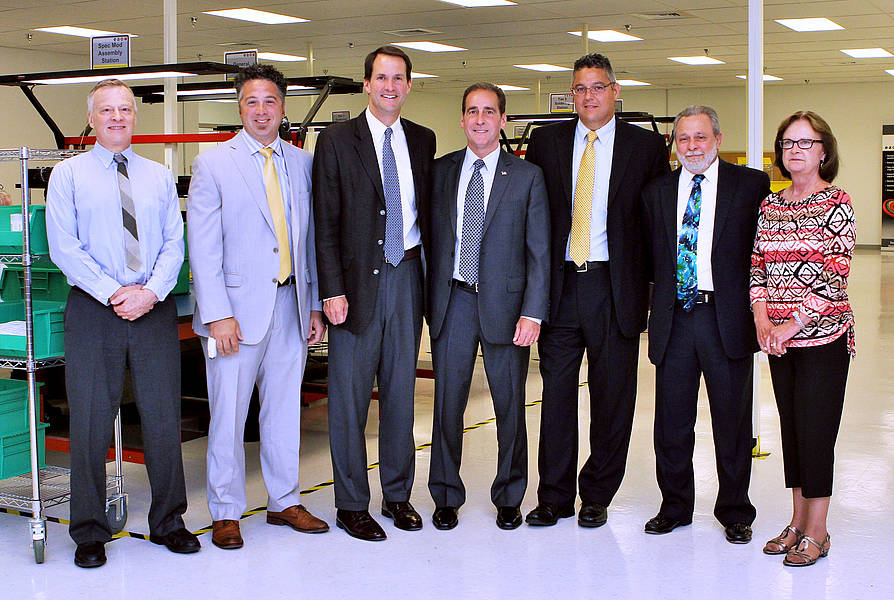 Congressman Jim Himes Tours EAO Corporation's New North American Headquarters