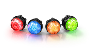 Series 14 - Indicator compact. High-intensity illuminated and robust.